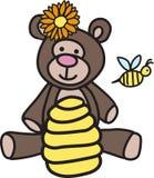 Bee Teddy Bear Stock Photos