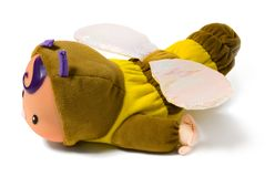 Bee toy Royalty Free Stock Photos