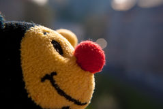 Bee toy close up Stock Image