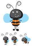 Bee vector Royalty Free Stock Images