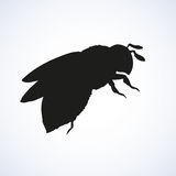 Bee. Vector drawing Stock Image