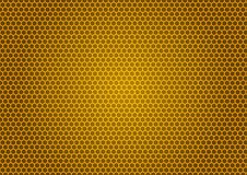 Bee& x27; s蜂窝例证 图库摄影