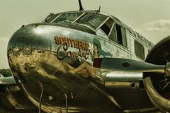 Beech C45H Expeditor & x22;Southern Comfort& x22; Stock Image