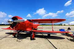 Beech D 17 S Staggerwing Royalty Free Stock Image