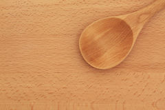 Beech Wood Spoon Royalty Free Stock Photography