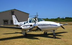 Beechcraft baron Royalty Free Stock Photography