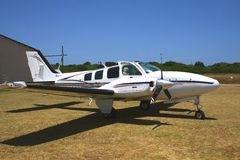 Beechcraft baron Royalty Free Stock Photo