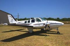Beechcraft Baron Lizenzfreies Stockfoto