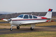 Beechcraft Bonanza Stock Photo