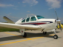 Beechcraft Bonanza Royalty Free Stock Photography