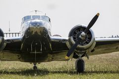 Beechcraft C45 Twinbeech Fotografie Stock