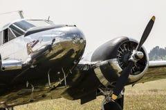 Beechcraft C45 Twinbeech Στοκ εικόνες με δικαίωμα ελεύθερης χρήσης