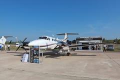 Beechcraft König Air Lizenzfreie Stockfotos