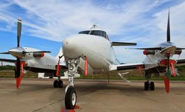 Beechcraft King Air 350 Stock Photo