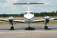 Beechcraft konungluft 200 royaltyfria bilder