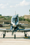 Beechcraft T-6A Texan II Head on before take-off Royalty Free Stock Image