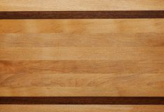 Beechen panel with inserts wenge Stock Photography