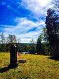 Beechgrove Cemetery. Country Graveyard Fall Royalty Free Stock Photo