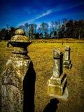 Beechgrove Cemetery. Historical Country Graveyard Stock Photo