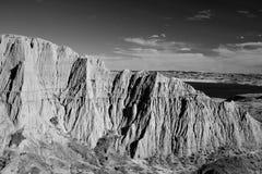 Beechy Sandcastles jezioro Diefenbaker fotografia royalty free
