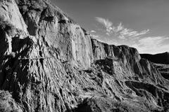 Beechy Sandcastles jezioro Diefenbaker obraz royalty free