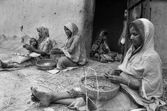 beedi kobiet pracownik Zdjęcie Royalty Free
