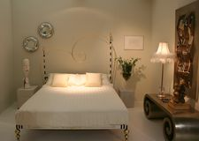 beedroom διακοσμώντας τις ιδέε&sigm Στοκ Φωτογραφίες
