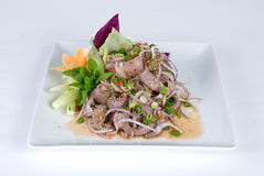 Beef And Onion Salad Royalty Free Stock Image