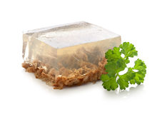Beef aspic Royalty Free Stock Photo