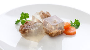 Beef aspic Royalty Free Stock Images
