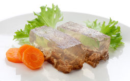 Beef aspic Stock Images