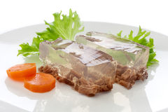 Beef aspic Stock Image