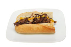 Beef baguette Royalty Free Stock Image