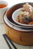 Beef ball dim sum Royalty Free Stock Photo