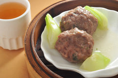 Beef Ball Dim sum Stock Images