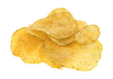 Beef barbecue flavor potato chips Royalty Free Stock Photography