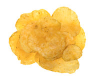 Beef barbecue flavor potato chips Royalty Free Stock Images