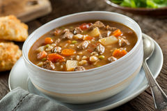 Beef and Barley Soup Stock Images