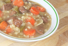 Beef Barley Stew Royalty Free Stock Images