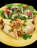 Beef And Bean Enchiladas 1 Royalty Free Stock Image