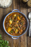Beef and bean tagine Stock Photography
