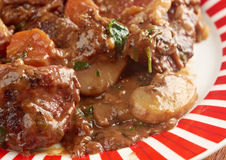 Beef bourguigno Stock Images