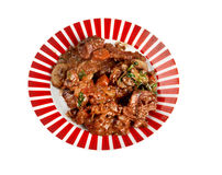 Beef bourguigno Stock Image