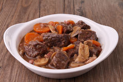 Beef bourguignon Royalty Free Stock Photography