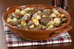 Beef Bourguignon Royalty Free Stock Image