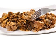 Beef bourguignon stew Stock Photo