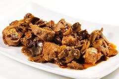 Beef bourguignon stew Stock Photos