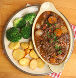 Beef Bourguignon Stew Royalty Free Stock Photos