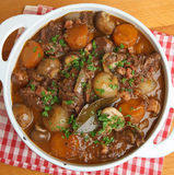Beef Bourguignon, Traditional French Stew Royalty Free Stock Image