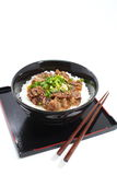 Beef bowl , japanese food Stock Photography